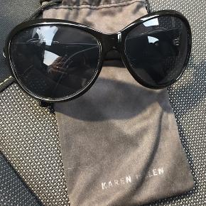 Super lækre KAREN MILLEN solbriller  Flotte og uden de store brugsspor, får dem bare ikke brugt Dustbag medfølger