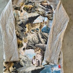 Skøn lang bluse, lidt brugsspor på albuer