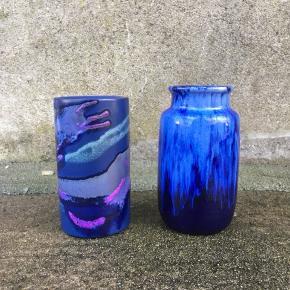 Strehla og West Germany vase til salg. Prisen er pr stk. I god stand.