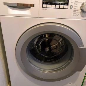 Vaskemaskine som ny uden brugsspor sælges pga. flytning. Købspris 5.200 kr.