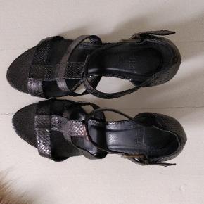 Læder sandaler fra Billi Bi