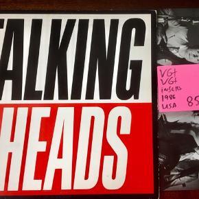 Talking heads lp musik vinyl plade til grammofon. USA tryk i super kvalitet