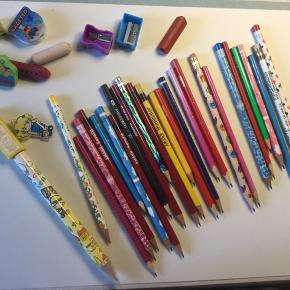 Brugte blyanter men kan sagtens stadig bruges
