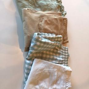 4 par fine bukser. 2 par Zara og 2 par Hound