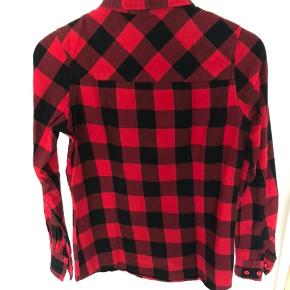 Fitting flannel shirt.