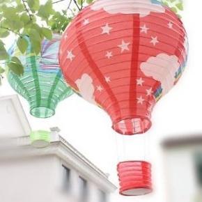 Luftballon. Lampeskærm eller uro. Aldrig brugt. Ø 30cm