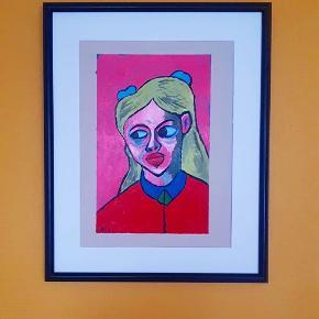 Kunst print sælges uden ramme  A3;150kr