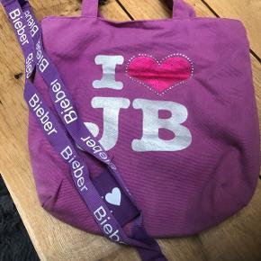 Justin bieber, taske og key hænger , fra ikke ryger hjem.