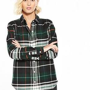 Smuk udgået skjorte i flannel kvalitet