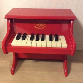 Klassisk rød legetøjsklaver fra Vilac