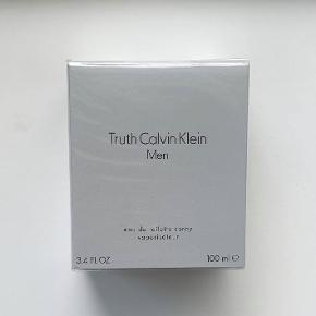 Calvin Klein Truth for Men 100 ml. Jeg sælger denne ubrugte og uåbnede parfume. Jeg er villig til at forhandle om prisen, dog frabeder jeg mig useriøse bud.