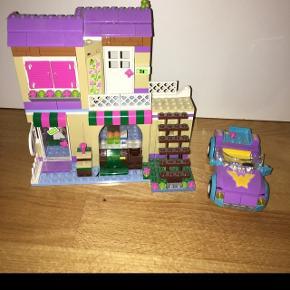 LEGO friends købmand m bil