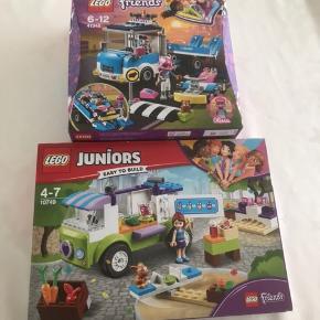 2 nye æsker LEGO friends. Kan sendes med DAO for 38kr.