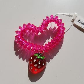 Sød elastik med jordbær