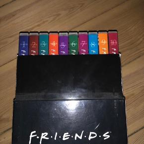 Friends serie boks  Sæson 1-10 Brugt få gange