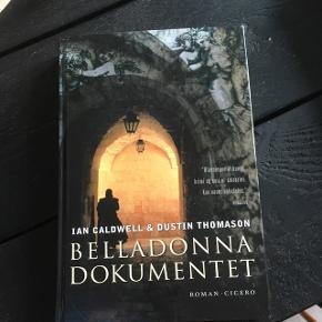 """Sælger bogen """"Belladonna dokumentet""""   Byd 😊"""