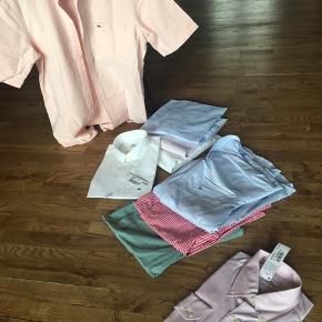 Skjorter str 41 med korte ærmer , regular fit, pr stk 300kr 2 for 500kr 1 stk med lange ærmer