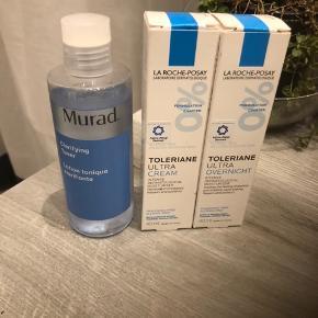 Hudpleje produkter, helt ny, i originale æsker , sælges som sæt,fra ikke ryger hjem. Testet af astma - allergi Denmark. Dagcreme - natcreme samt lotion til ansigtet. Virkeligt godt produkt.