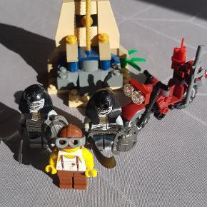 Lego, Pharaos Quest 7306. Er komplet, dog uden vejledning og kasse. Har været leget med. Fra røgfrit hjem.