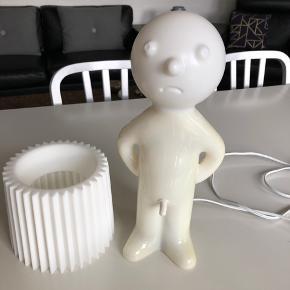 Hvid Mr. P. Original - lidt farve forskel i plastikken.