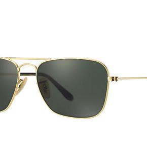 Sælger disse næsten helt nye Ray-ban Caravan solbriller. Medfølger kvittering, etui og andet originalt tilbehør.   Køb for 750