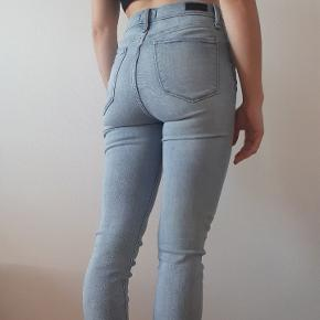 High rise skinny jeans from Abercrombie and Fitch.