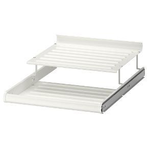 Ikea pax Komplement udtrækkelig skohylde. 75 * 58 cm. Nypris 180