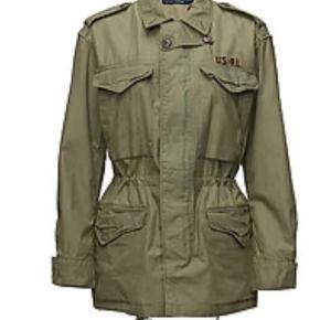 Superfed Twill Military Jacket - som ny, næsten ikke brugt.