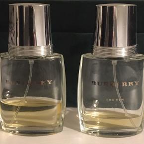 For Men. 2 parfume rester (det er 30 ml flasker)