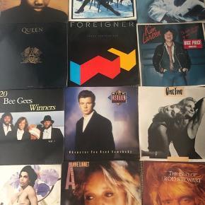 Sælger disse MEGA fede vinylplader. De er mellem 15-20 år gamle, men de sku' meget gerne stadig virke fint:)  50kr Per styk. (Nogen kan godt koste mindre, da der er tegn på slid)  - tager imod bud også:)  PRINCE Bee Gees Tracy Chapman FOREIGNER QUEEN x2 Elton John x2 Kim Larsen ROD STEWART John Mogensen Paul McCartney Tina Turner- Foreign Affair OneTwo Rick Astley Anne Linnet- Jeg er jo lige her