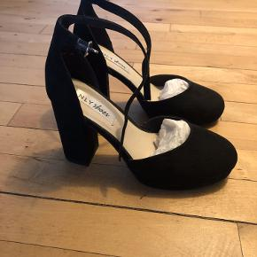 NLY Shoes  Mid Platform Block Pump  Used only once, in perfect condition.  Can try and pick up from my place in NV.