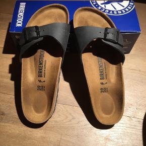Birkenstock sandaler. Model - Madrid i str. 39 - brugt 1 gang.