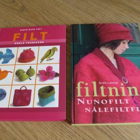 2 filtebøger sælges gerne samlet for kr. 100.  Sendes fragtfrit i denne uge , (fra 12/10- 19)