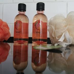 2 x 50 ml body shower og 22 vaskebolde, duft Mango