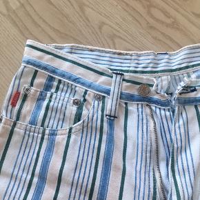 Vintage/retro jeans/bukser med striber