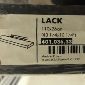 Hylde fra IKEA i sortbrun som nye! Se mål på billed 1. BYD. Jeg har 2 af dem. BYD :)