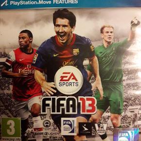 PS3 FIFA13  Se også vores andre spil til salg på sidste billede....
