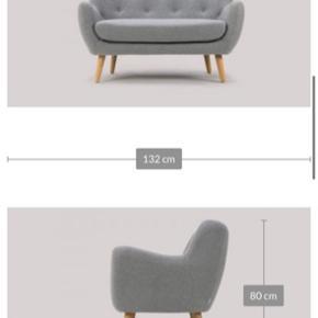 Sofakompaniget, Herman sofa, 3 personers.  Mål og flere billeder i kommentaren.   Skal hentes i Sydhavn