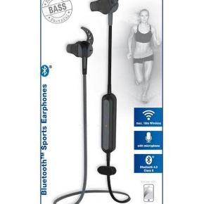 Vivanco trådløse Bluetooth høretelefoner - gode til løb. Fejler intet