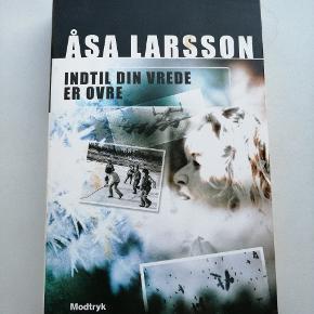 Åsa Larsson, indtil din vrede er ovre.