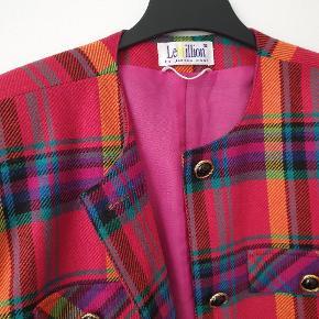 Vintage blazer Fits S-L 45% Wool Made in Denmark