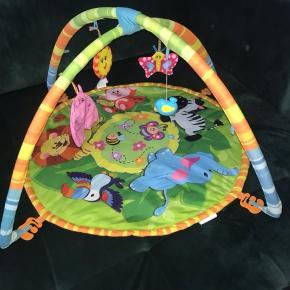 Aktivitetstæppe legetæppe aktivitets  legetøj dyr
