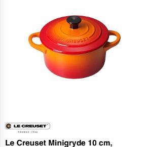 Le Creuset andet til køkkenet