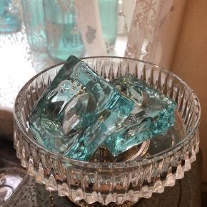 Smukke glas lysestager fra Holmegaard