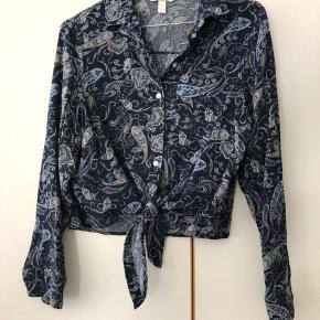 Fin mønstret skjorte Perfekt stand