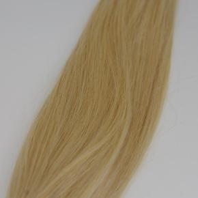 Lækker hot fusion extension, som er 100%ægte hår. Håret er double drawn, så det er lækkert tykt fra top til bund.  Håret er 40cm langt.  Prisen er pr. 50g.  Farvekode #613