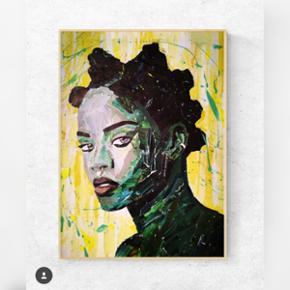 Art by Bisse. Collagekunst. Sælges som print i lækkert 170 g. papir. (uden ramme)  300 kr. for afhentning i Århus/330 kr. inkl fragt. Rihanna plakat A2. (420x594 mm)   Følg gerne min instagram artbybisse, som bliver opdateret løbende. 🙂  http://www.facebook.com/artbybisse