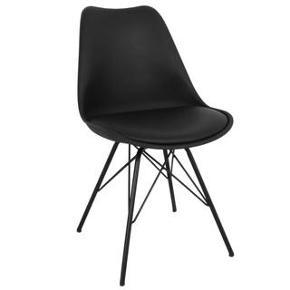 Spisebord stole fra Bilka i modellen Berlin sort.Sælger 4stk til 1000kr Normal pris pr stk 399kr