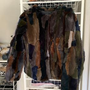 Creton pels- & skindjakke