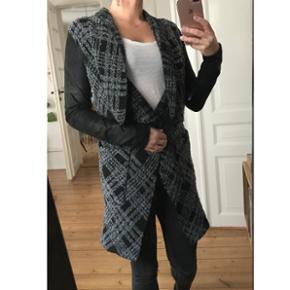 Anne Vest cardigan med skindærmer